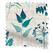 Meadow Teal Curtains slat image
