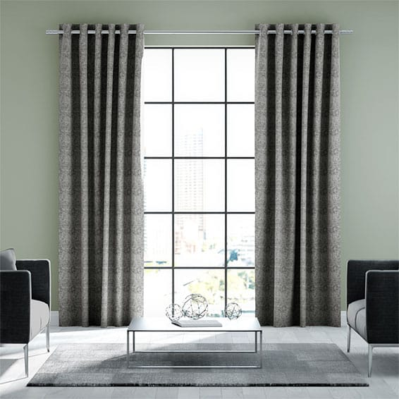 Newhaven Ash Grey Ready Made Curtains