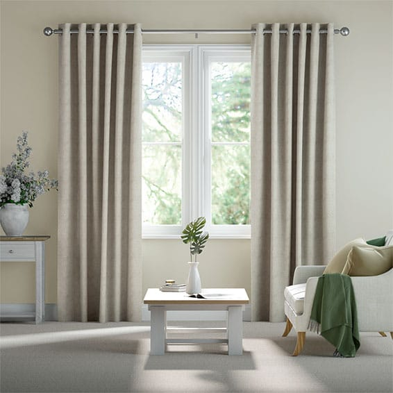 Newhaven Stone Ready Made Curtains