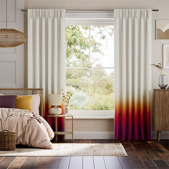 Ombre Sunset Curtains