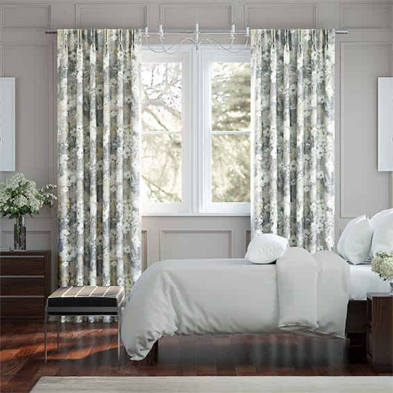 Orchid Faux Silk Mineral Curtains