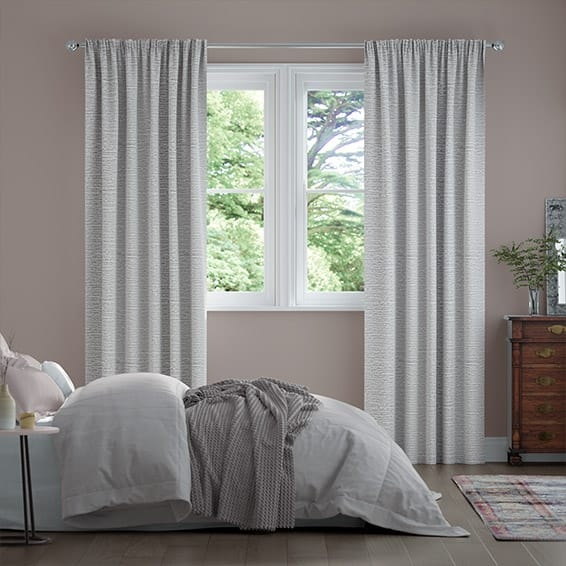 Orla Silver Curtains