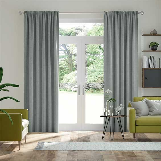 Paleo Linen Steel Curtains