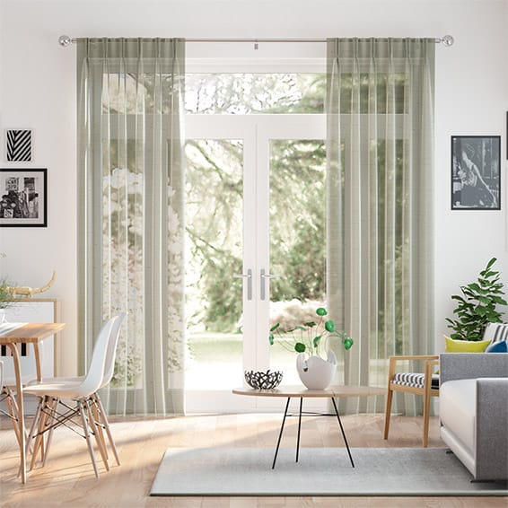 Paraiso Voile Nickel Curtains