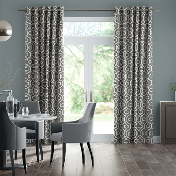 Perseus Pewter Curtains