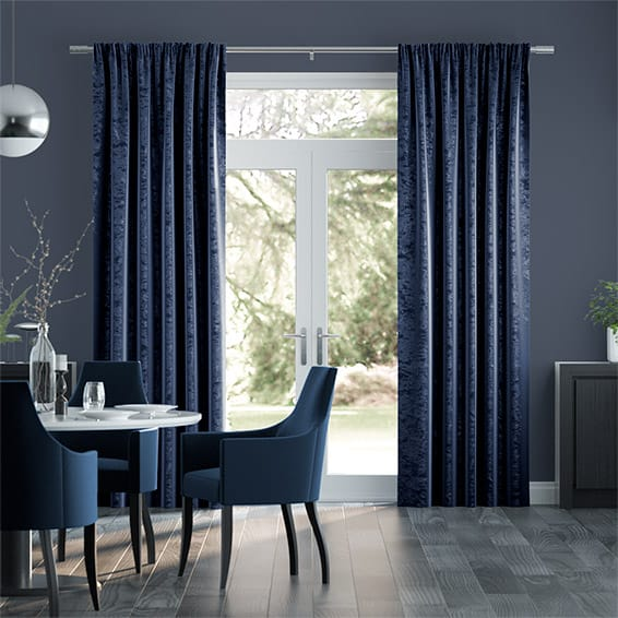 Premium Velvet Royal Blue Curtains