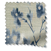 Renaissance Faux Silk Blueberry Curtains slat image