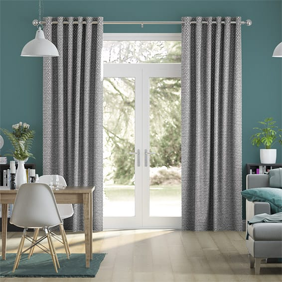 Rockhampton Grey Curtains