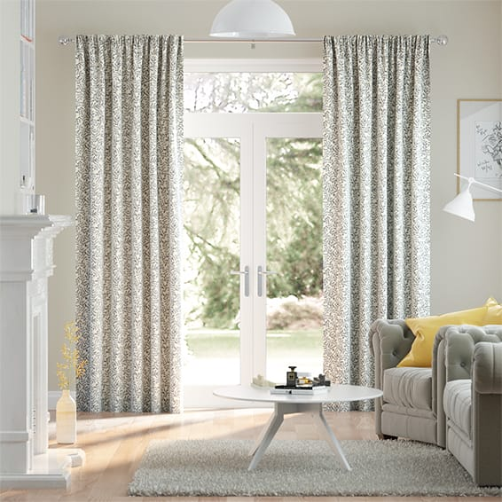 Rosehip Leaf Stone Curtains