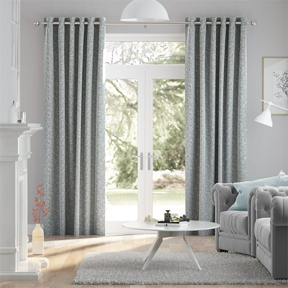 Rossendale Silver Curtains
