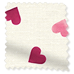 Scattered Hearts Pink swatch image