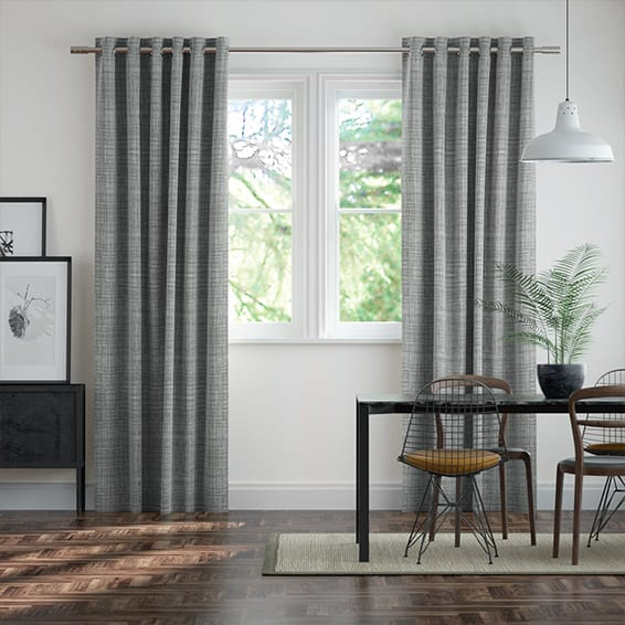 Scribble Drawing Room : Orla kiely grey curtains shop the range online