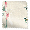 Secret Garden Faux Silk Rose Curtains slat image