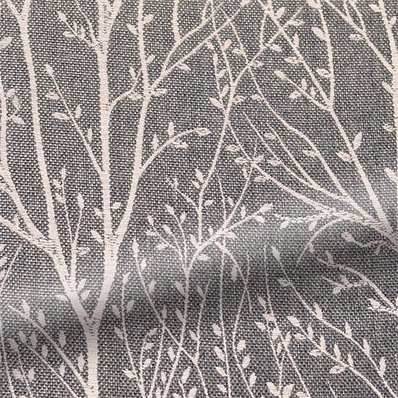 Sissinghurst Dark Grey Curtains