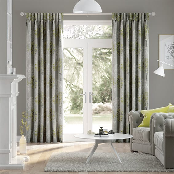 Slender Forest Velvet Zest Curtains