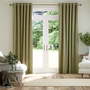 green curtains 2go light mid dark green tones