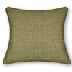 Smooth Sisal Green Gold Curtains - Cushions