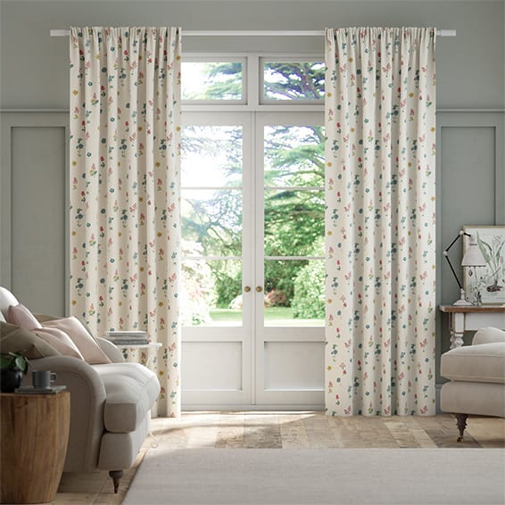 Sprig Twilight Multi Curtains