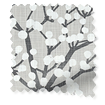Spring Blossom Dove Grey Curtains slat image