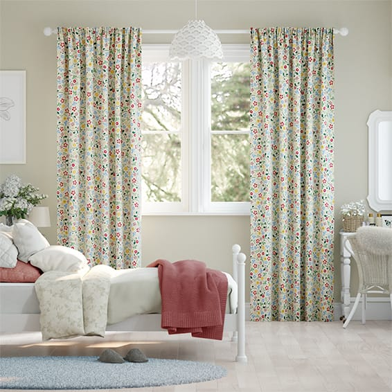 Spring Floral Multi Curtains