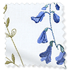 Spring Meadow Embroidered Bluebell Curtains slat image
