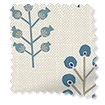 Spring Prairie Linen Gentle Blue Curtains slat image