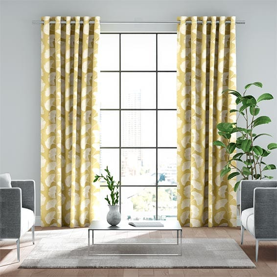 Tatami Citrus Ready Made Curtains