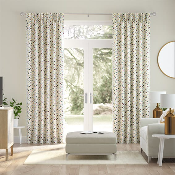 Tight Polka Dot Multi Curtains