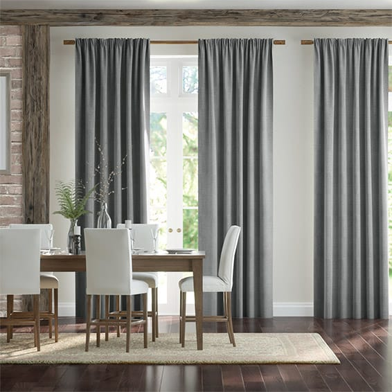 Timbre Platinum Ready Made Curtains
