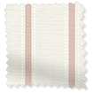 Twill Stripe Blush Curtains slat image