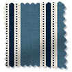 Twill Stripe Linen Denim Curtains slat image