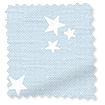 Twinkling Stars Baby Blue Curtains slat image