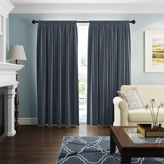 colors deco furniture shipping curtain velvet free soft curtains item g modern w blackout material