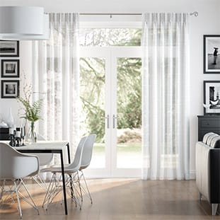 White Curtains 2go Pure White In Linen Faux Silk Amp More