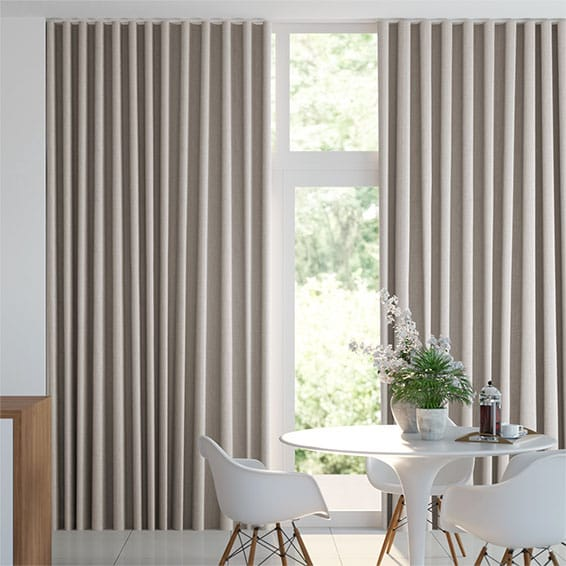 Wave Cavendish Warm Stone Curtains