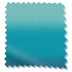 Wave Ombre Teal Curtains slat image