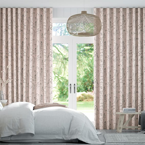 Wave Prairie Blush Curtains