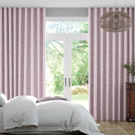 Wave Timothy Grass Heather Curtains