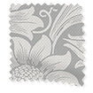 Wave William Morris Sunflower Silver Grey Curtains slat image
