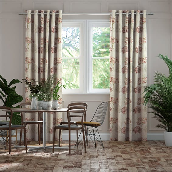Wildwood Rose Ready Made Curtains