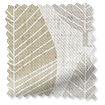 Winter Leaf Linen Hazelwood Curtains slat image